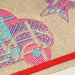Etiquetas personalizadas de tecido